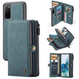 For Samsung Galaxy S20 Case Detachable Multi-functional Folio Leather Cover, Blue | iCoverLover Australia