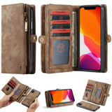 For iPhone 11, Wallet PU Leather Flip Cover, Brown | iCoverLover Australia