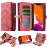 For iPhone 11, Wallet PU Leather Flip Cover, Red | iCoverLover Australia