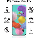iCoverLover [2-pack] Samsung Galaxy A51 Tempered Glass Screen Protector | iCoverLover