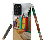 For Samsung Galaxy Note 20 Ultra Case, Tough Protective Back Cover, Brighton Bathing Boxes | iCoverLover Australia