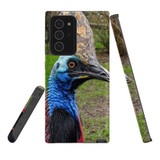For Samsung Galaxy Note 20 Ultra Case, Tough Protective Back Cover, Cassowaries | iCoverLover Australia