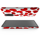 Armour Case, Tough Protective Back Cover, Red Hearts   iCoverLover.com.au   Phone Cases