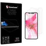 iCoverLover [2-Pack] iPhone 12 Pro Max (6.7in) Tempered Glass Screen Protector