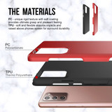 Samsung Galaxy Note 20 Ultra/Note 20 Case, Shockproof Protective Cover, Red | iCoverLover Australia