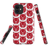 For Apple iPhone 12 mini Case, Tough Protective Back Cover, recat pattern | iCoverLover Australia