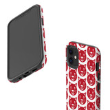 For Apple iPhone 12 Pro Max/12 Pro/12 mini Case, Tough Protective Back Cover, recat pattern | iCoverLover Australia