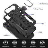 iPhone 12 Pro Max/12 Pro/12 mini/12 Case, Tough Armour Protective Cover with Magnetic Ring Holder, Black | iCoverLover Australia