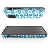 For Apple iPhone 12 Pro Max/12 Pro/12 mini Case, Tough Protective Back Cover, blue snowflakes   iCoverLover Australia