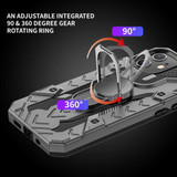 iPhone 12 Pro Max/12 Pro/12 mini/12 Case, Tough Armour Protective Cover with Magnetic Ring Holder, Grey   iCoverLover Australia
