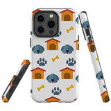 For Apple iPhone 13 Pro Max Case, Protective Back Cover, Dog Houses   Shielding Cases   iCoverLover.com.au