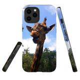 For Apple iPhone 12 Pro Max Case, Tough Protective Back Cover, giraffe | iCoverLover Australia