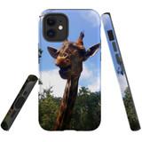 For Apple iPhone 12 mini Case, Tough Protective Back Cover, giraffe | iCoverLover Australia