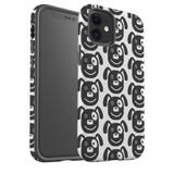 For Apple iPhone 12 Pro Max/12 Pro/12 mini Case, Tough Protective Back Cover, dog heapattern | iCoverLover Australia