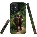 For Apple iPhone 12 mini Case, Tough Protective Back Cover, thai elephant 1   iCoverLover Australia
