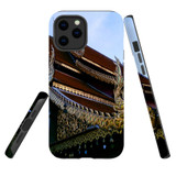 For Apple iPhone 12 Pro Max Case, Tough Protective Back Cover, thai temple | iCoverLover Australia