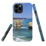 For Apple iPhone 12 Pro Max Case, Tough Protective Back Cover, great ocean roarocks | iCoverLover Australia