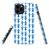 For Apple iPhone 12 Pro Max Case, Tough Protective Back Cover, couple pattern | iCoverLover Australia
