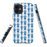 For Apple iPhone 12 mini Case, Tough Protective Back Cover, couple pattern | iCoverLover Australia