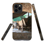 For Apple iPhone 12 Pro Max Case, Tough Protective Back Cover, the donkey carriage | iCoverLover Australia