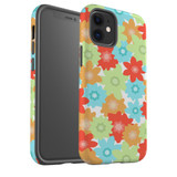 For Apple iPhone 12 Pro Max/12 Pro/12 mini Case, Tough Protective Back Cover, Flowers_Pattern | iCoverLover Australia