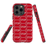 For Apple iPhone 13 Pro Case, Protective Back Cover, Stop Signs   Shielding Cases   iCoverLover.com.au