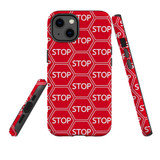 For Apple iPhone 13 Case, Protective Back Cover, Stop Signs   Shielding Cases   iCoverLover.com.au