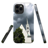For Apple iPhone 12 Pro Max Case, Tough Protective Back Cover, church   iCoverLover Australia