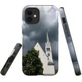 For Apple iPhone 12 mini Case, Tough Protective Back Cover, church   iCoverLover Australia