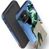 For Apple iPhone 12 Pro Max/12 Pro/12 mini Case, Tough Protective Back Cover, green dragon statue | iCoverLover Australia