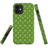 For Apple iPhone 12 mini Case, Tough Protective Back Cover, snowflake pattern | iCoverLover Australia