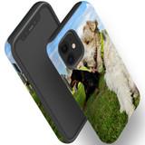 For Apple iPhone 12 Pro Max/12 Pro/12 mini Case, Tough Protective Back Cover, three dogs 1   iCoverLover Australia