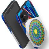 For Apple iPhone 12 Pro Max/12 Pro/12 mini Case, Tough Protective Back Cover, Pencil Coloring Portrait | iCoverLover Australia