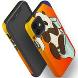 For Apple iPhone 12 Pro Max/12 Pro/12 mini Case, Tough Protective Back Cover, panda toilet | iCoverLover Australia