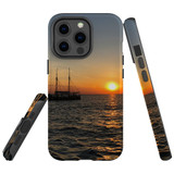 For Apple iPhone 13 Pro Max Case, Protective Back Cover, Sailing Sunset   Shielding Cases   iCoverLover.com.au
