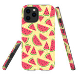 For Apple iPhone 12 Pro Max Case, Tough Protective Back Cover, watermelon pattern | iCoverLover Australia