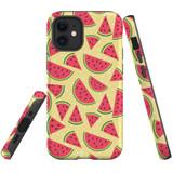 For Apple iPhone 12 mini Case, Tough Protective Back Cover, watermelon pattern | iCoverLover Australia