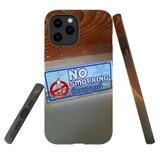 For Apple iPhone 12 mini Case, Tough Protective Back Cover, no smorking   iCoverLover Australia