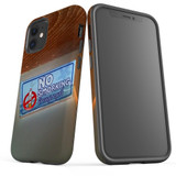 For Apple iPhone 12 Pro Max/12 Pro/12 mini Case, Tough Protective Back Cover, no smorking   iCoverLover Australia