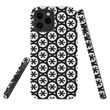 For Apple iPhone 12 Pro Max Case, Tough Protective Back Cover, star black pattern | iCoverLover Australia