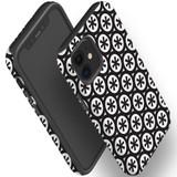 For Apple iPhone 12 Pro Max/12 Pro/12 mini Case, Tough Protective Back Cover, star black pattern | iCoverLover Australia