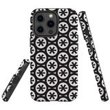 For Apple iPhone 13 Pro Max Case, Protective Back Cover, Black Stars | Shielding Cases | iCoverLover.com.au