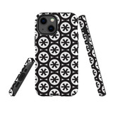 For Apple iPhone 13 mini Case, Protective Back Cover, Black Stars | Shielding Cases | iCoverLover.com.au