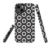 For Apple iPhone 13 Case, Protective Back Cover, Black Stars | Shielding Cases | iCoverLover.com.au