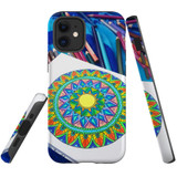 For Apple iPhone 12 mini Case, Tough Protective Back Cover, Pencil Coloring | iCoverLover Australia