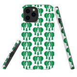 For Apple iPhone 12 Pro Max Case, Tough Protective Back Cover, green tree pattern | iCoverLover Australia