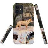 For Apple iPhone 12 mini Case, Tough Protective Back Cover, dingo | iCoverLover Australia