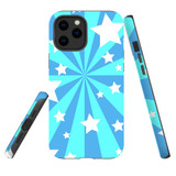 For Apple iPhone 12 Pro Max Case, Tough Protective Back Cover, star pattern | iCoverLover Australia