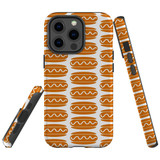 For Apple iPhone 12 Pro Max (6.7in) Case, Tough Protective Back Cover, hot dog pattern | iCoverLover Australia