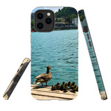 For Apple iPhone 12 Pro Max Case, Tough Protective Back Cover, ducklings | iCoverLover Australia